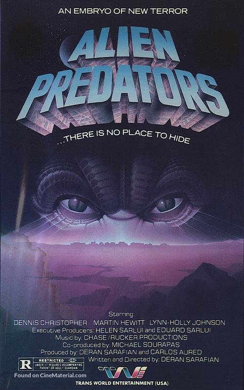 Alien Predator - Movie Cover