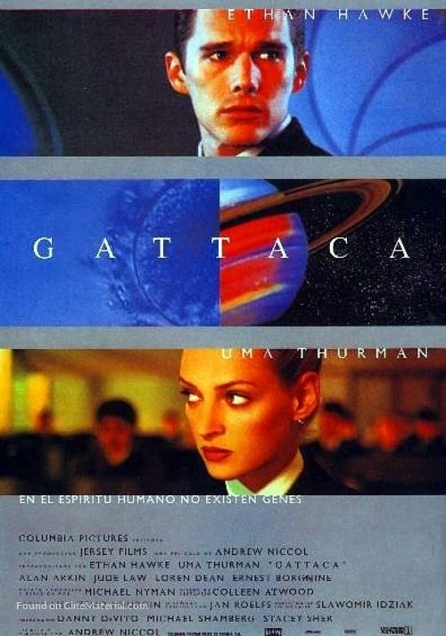 Gattaca - Spanish Movie Poster