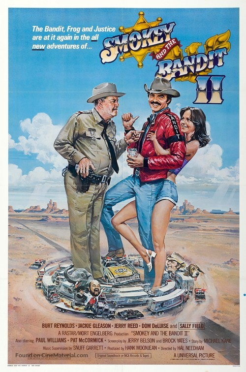 Smokey and the Bandit II - Movie Poster
