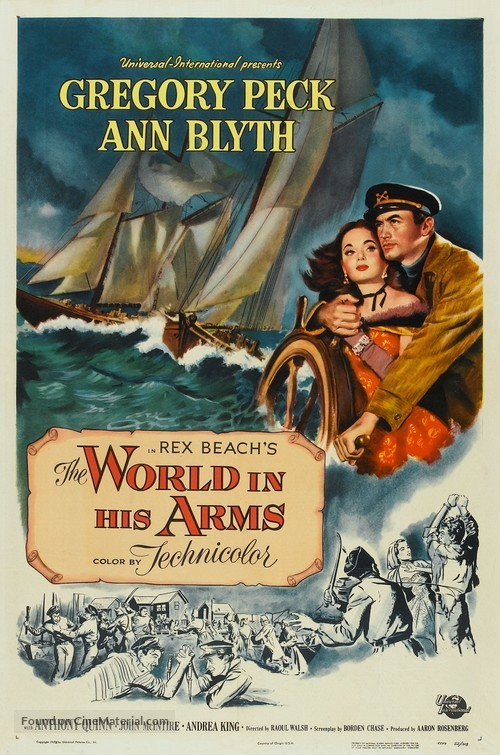 The World in His Arms - Movie Poster