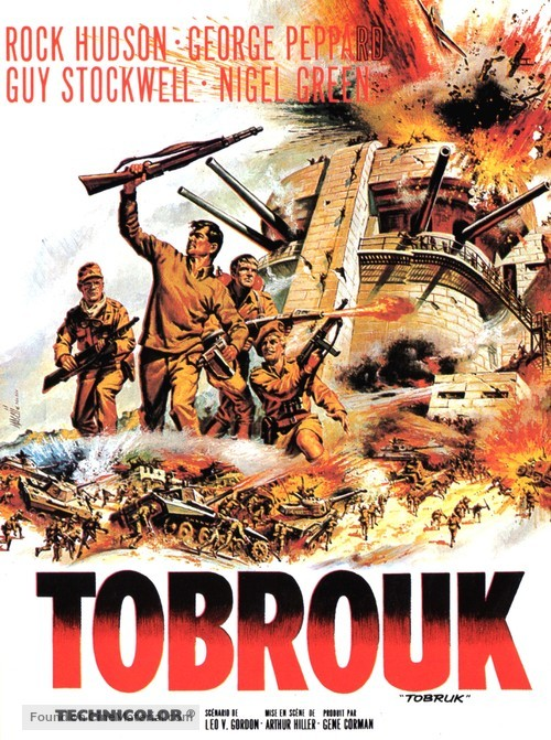 Tobruk - French Movie Poster
