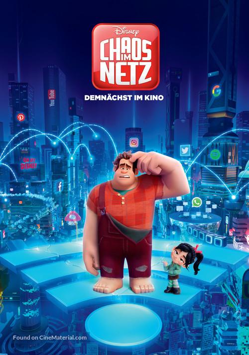 Ralph Breaks the Internet - German Movie Poster