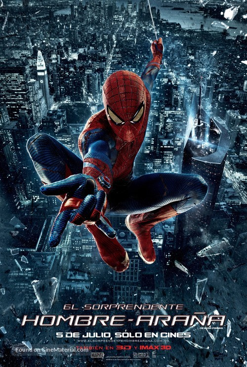 The Amazing Spider-Man - Mexican Movie Poster