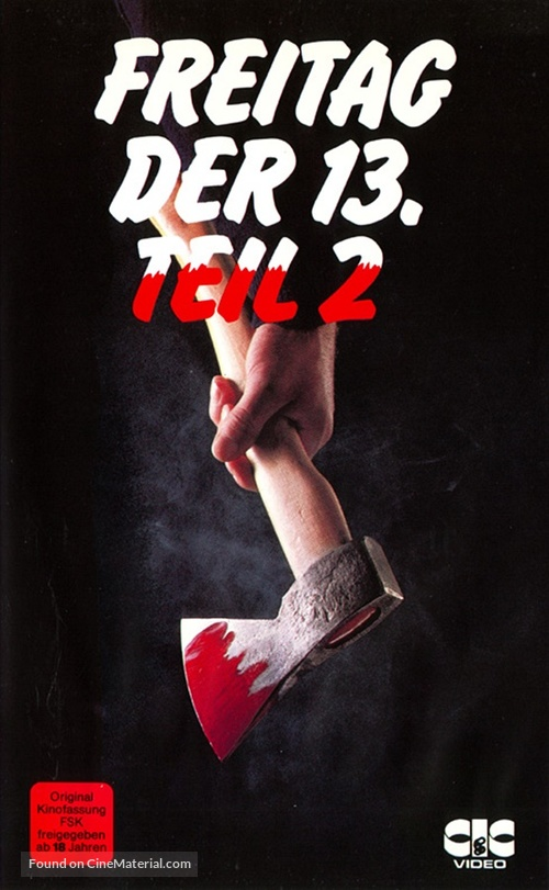 how would you rank the cover art? Friday-the-13th-part-2-german-vhs-movie-cover