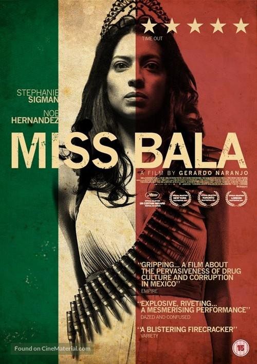 Miss Bala - British DVD movie cover