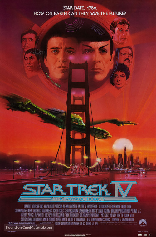 Star Trek: The Voyage Home - Movie Poster