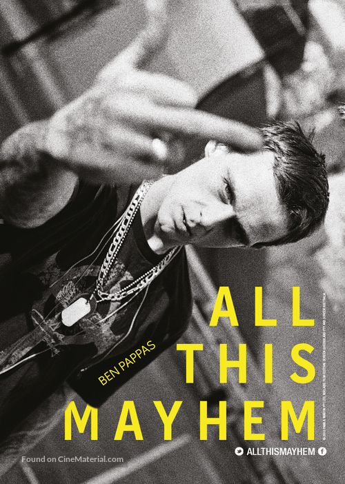 All This Mayhem - British Movie Poster