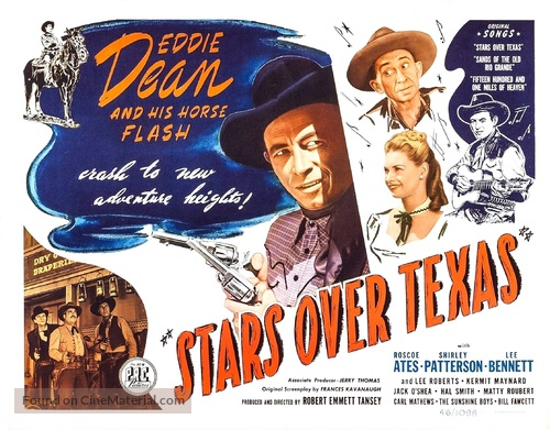 Stars Over Texas - Movie Poster
