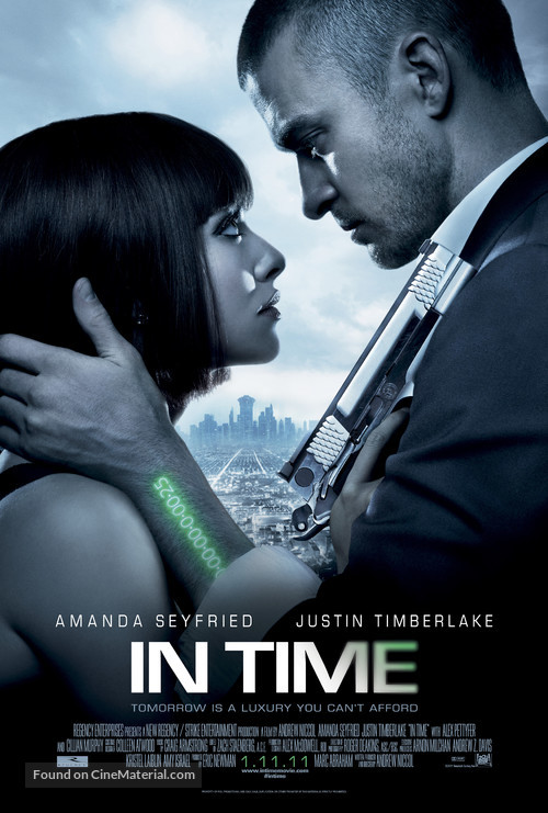 In Time - Movie Poster