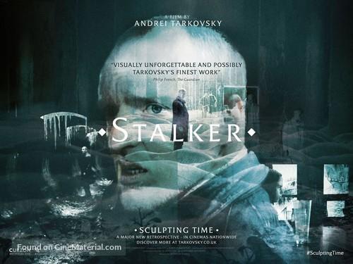 Stalker - British Re-release movie poster