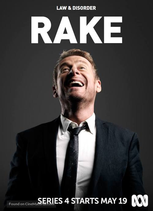 """Rake"" - Australian Movie Poster"