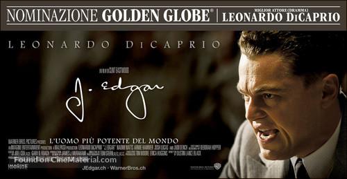 J. Edgar - Swiss Movie Poster