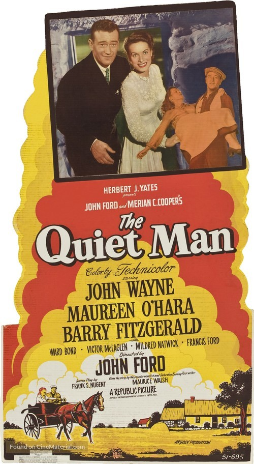 Quiet man movie poster