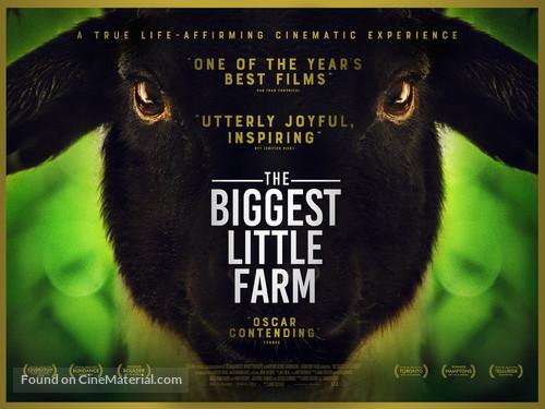 The Biggest Little Farm - British Movie Poster