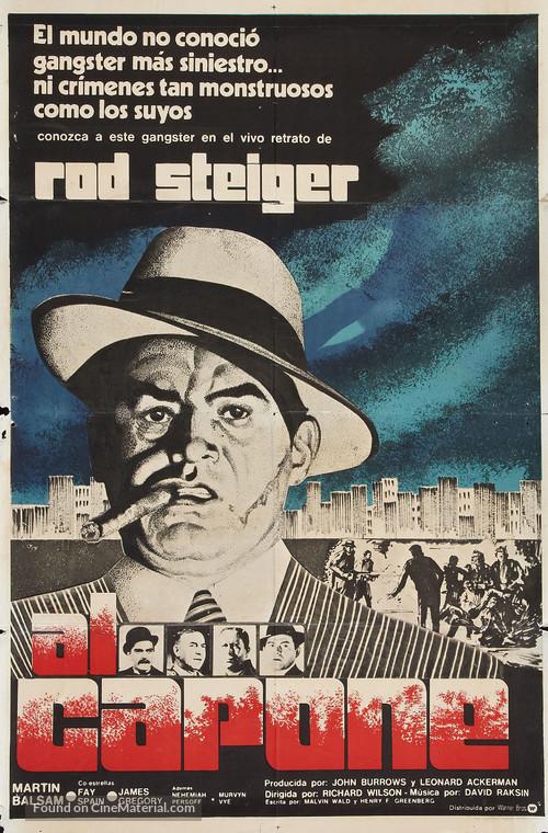 Al Capone - Argentinian Movie Poster