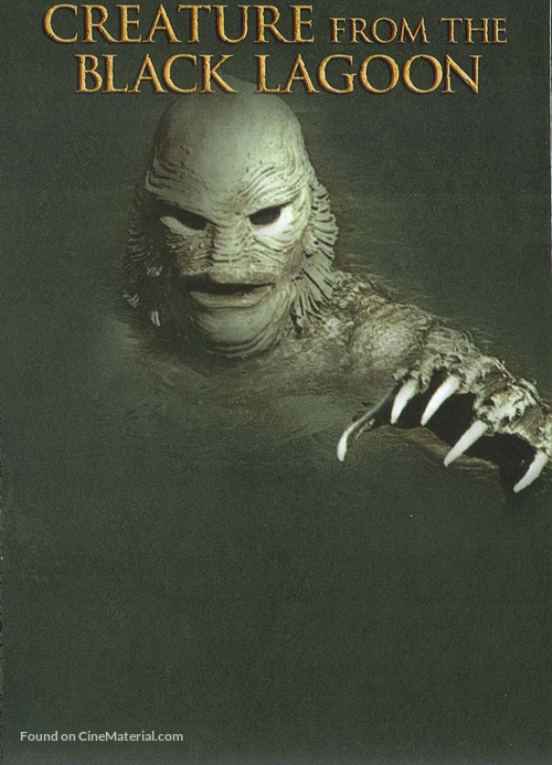 Black Lagoon Book Cover : Creature from the black lagoon dvd cover
