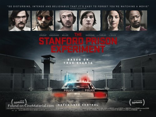 The Stanford Prison Experiment - British Movie Poster
