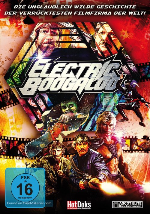 Electric Boogaloo: The Wild, Untold Story of Cannon Films - German Movie Cover