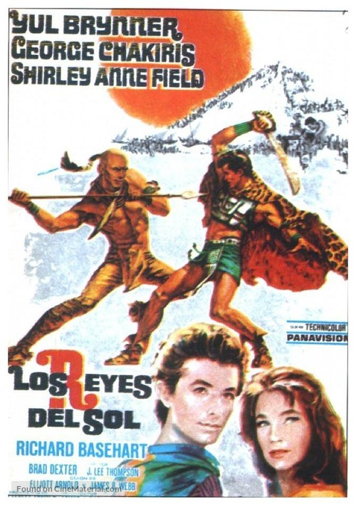 Kings of the Sun - Spanish Movie Poster