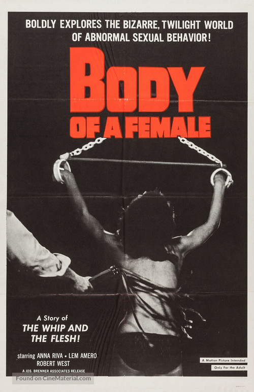 Body of a Female - Movie Poster