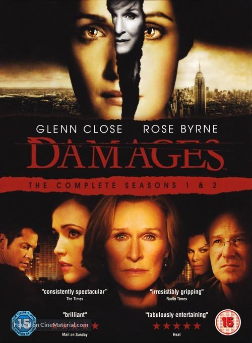"""""""Damages"""" - British Movie Cover"""