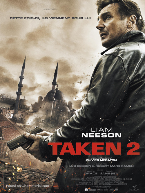 Taken 2 - French Movie Poster