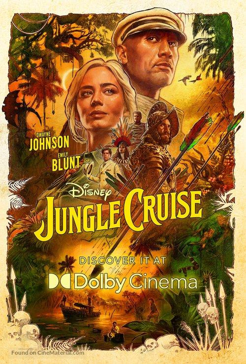 Jungle Cruise - Movie Poster