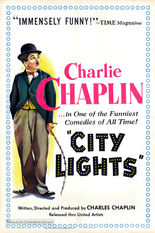 City Lights - Movie Poster
