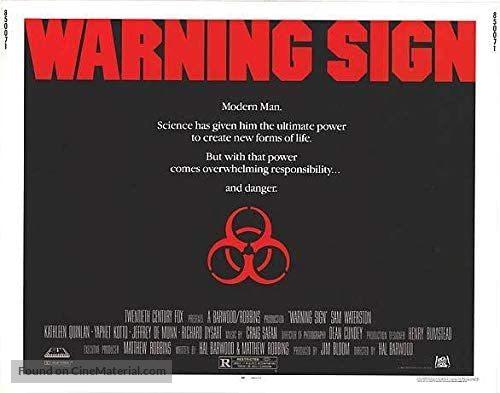 Warning Sign - Movie Poster