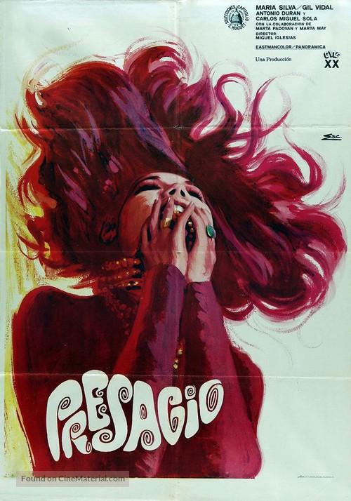Presagio - Spanish Movie Poster