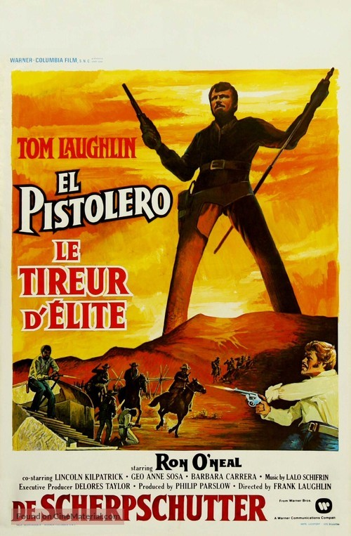 The Master Gunfighter - Belgian Movie Poster