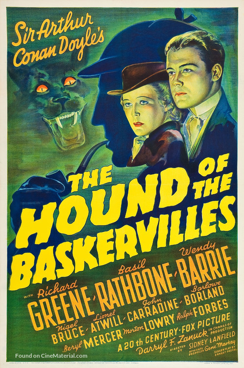 The Hound of the Baskervilles - Movie Poster