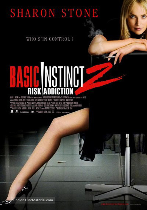 basic instinct 2 movie poster