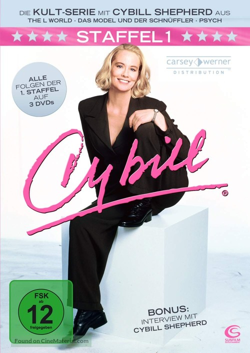 """Cybill"" - German DVD movie cover"