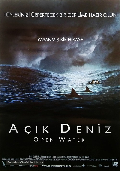 Open water movie poster
