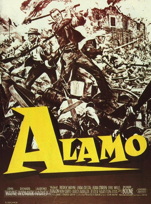 The Alamo - French Movie Poster