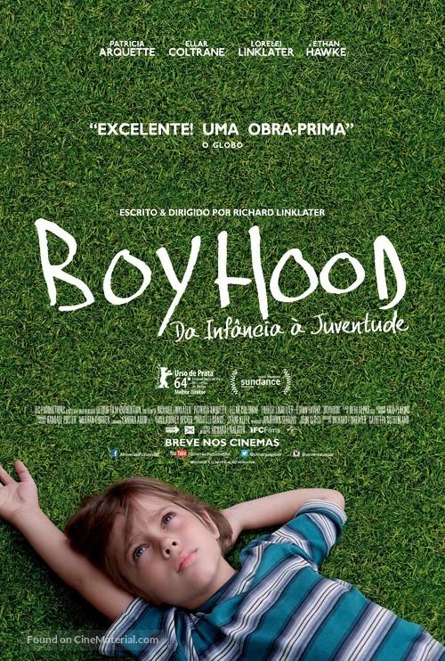 Boyhood - Brazilian Movie Poster
