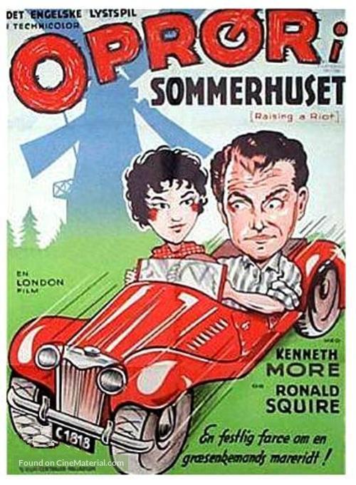 Raising a Riot - Danish Movie Poster