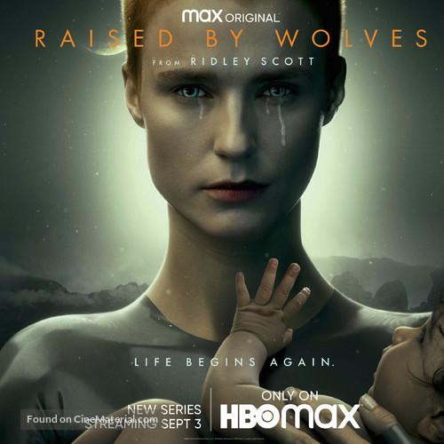 """""""Raised by Wolves"""" - Movie Poster"""