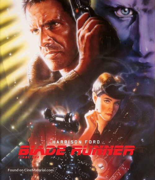 Blade Runner - German Blu-Ray movie cover