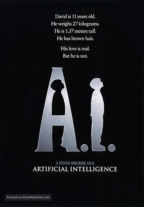 Artificial Intelligence: AI - Movie Poster
