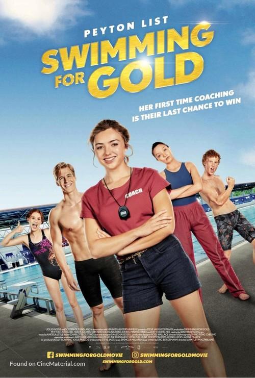 Swimming for Gold - Australian Movie Poster