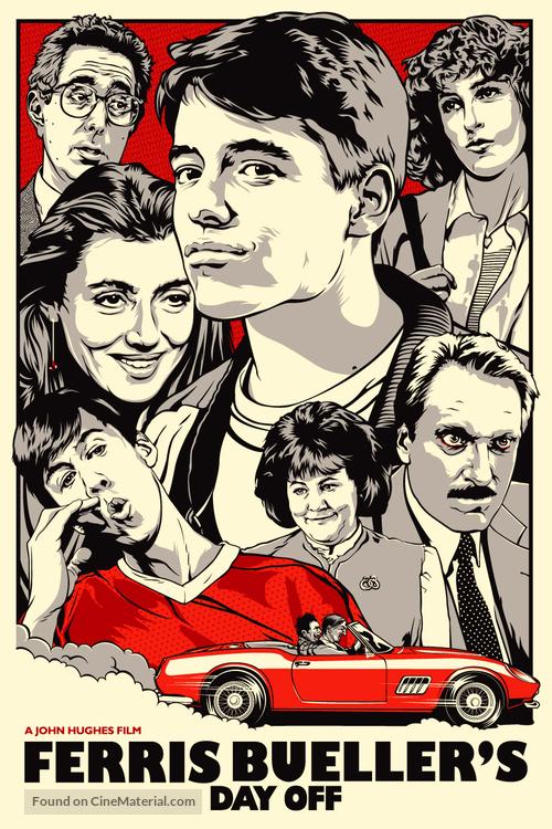 Ferris Bueller's Day Off - Movie Poster