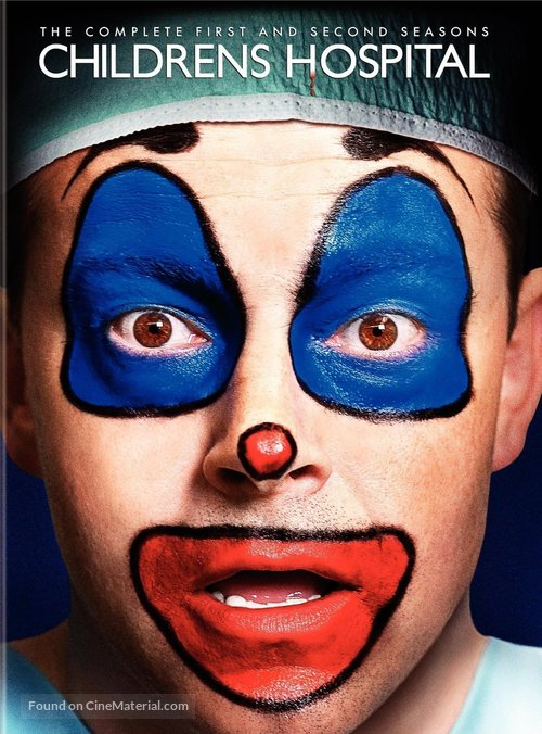 """Childrens Hospital"" - DVD movie cover"
