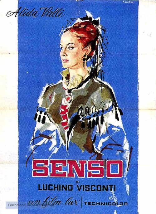 Senso - Italian Movie Poster