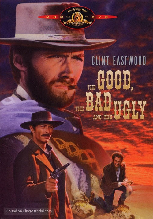 Il buono, il brutto, il cattivo - DVD movie cover