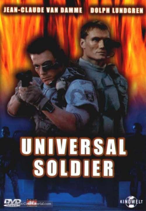 Universal Soldier - German DVD movie cover