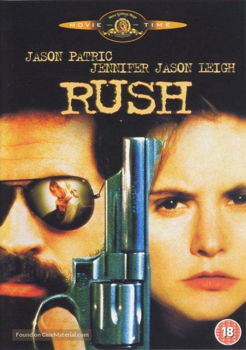 Rush - British DVD movie cover