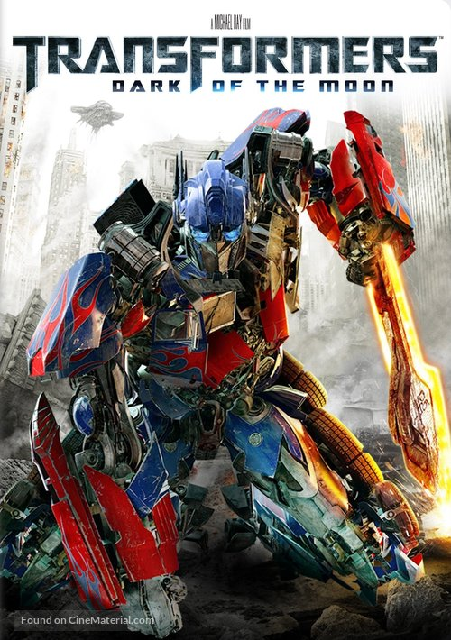 Transformers: Dark of the Moon - DVD movie cover