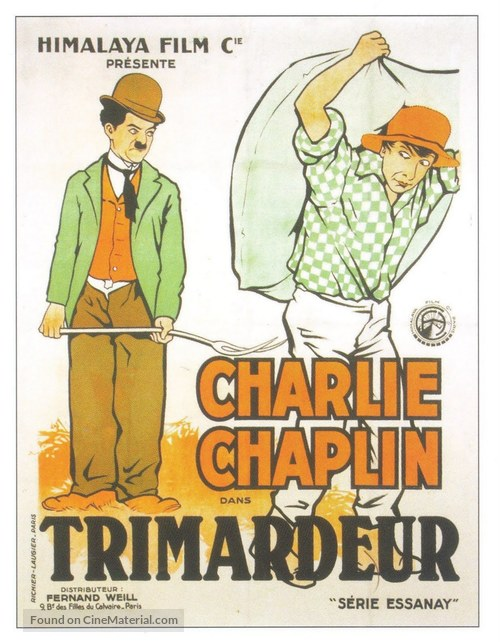Work - French Movie Poster